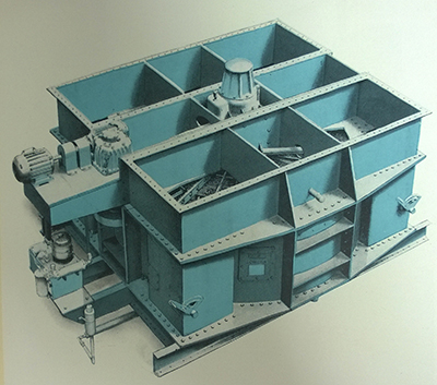A Howden-Ljungstrom Air Preheater drawing