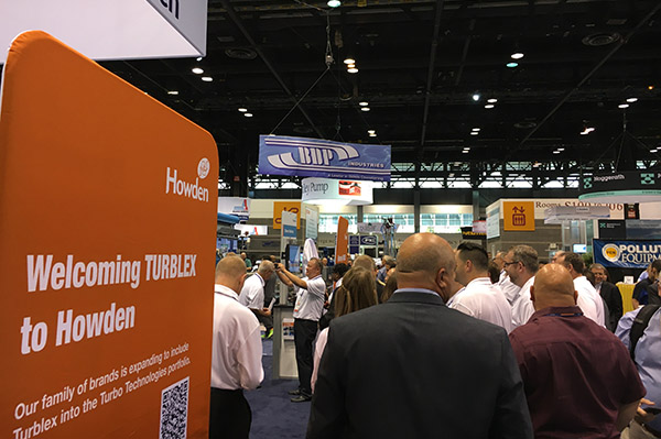 Turblex announcement at WEFTEC