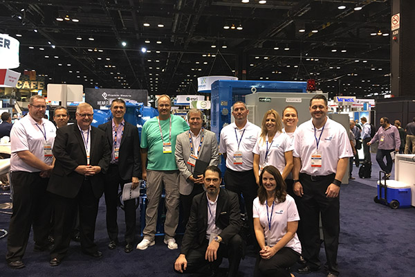 Turblex group photo at WEFTEC