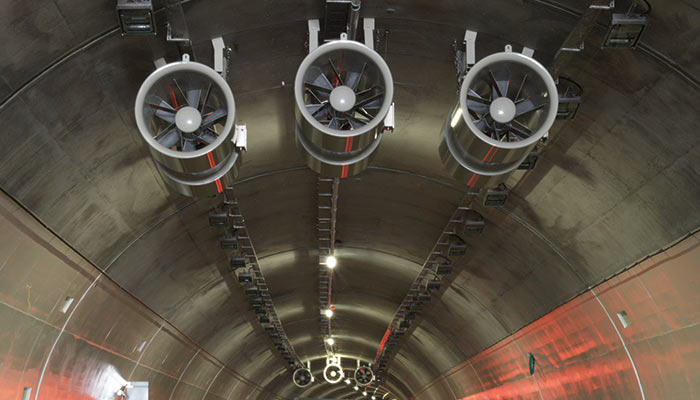Digitally enabled Jet fans for Conwy Tunnel