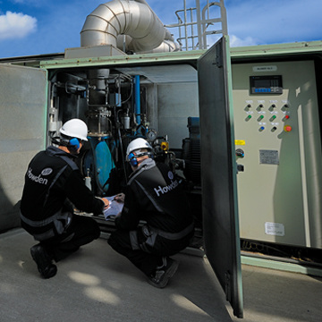 Wastewater blowers