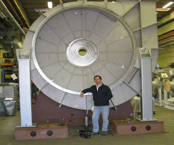 ExVel Mechanical Vapor Compression impeller