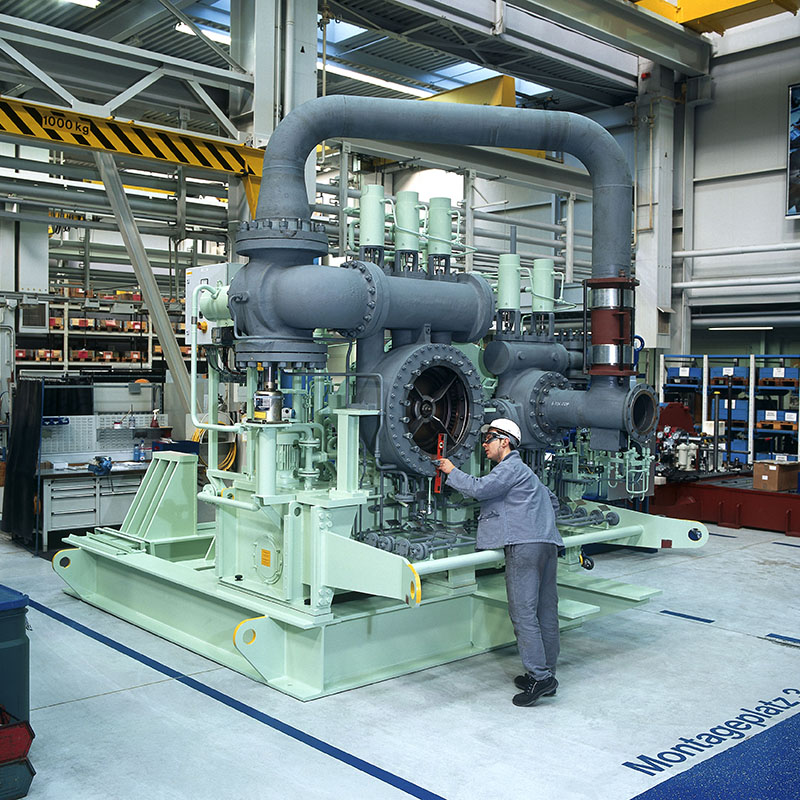 Steam turbine combi